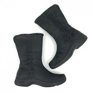 Dansko Winter Boots Black Leather Size 37